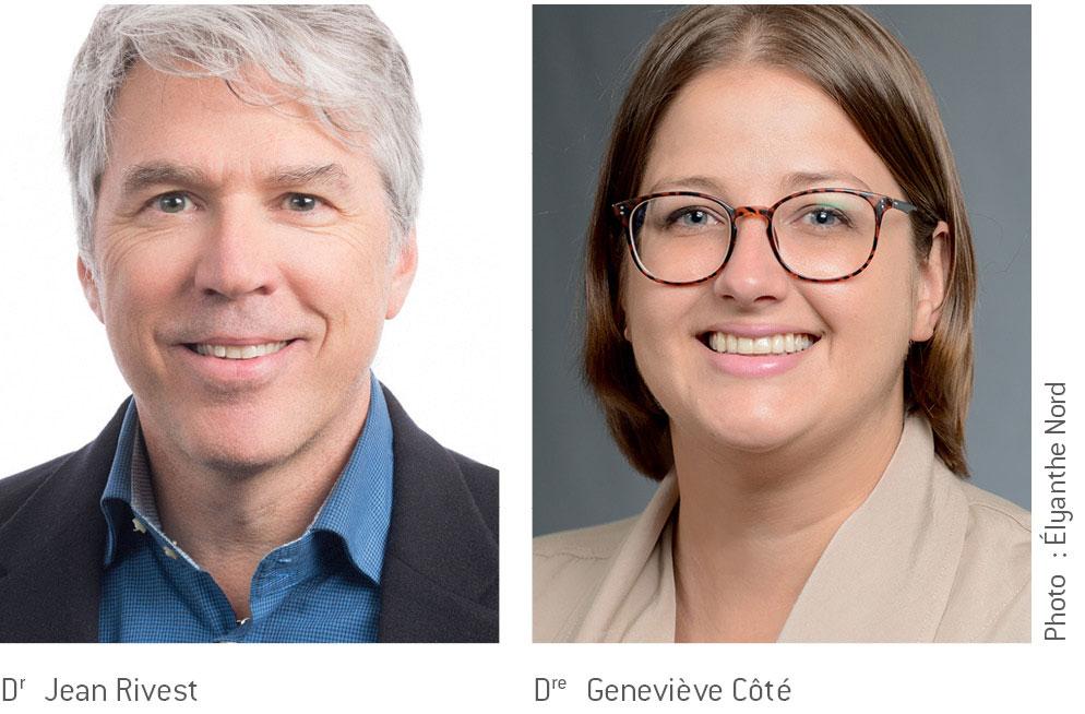 Dr Jean Rivest et Dre Geneviève Côté